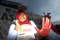 INDONESIA ANTI SMOKING CAMPAIGN Stock Photos
