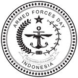 Indonesia Armed Forces Day Royalty Free Stock Images