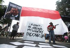 Indonesia - australia diplomacy Stock Image