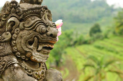 Indonesia, Bali, Architecture. Indonesia - old hindu architecture on Bali island Royalty Free Stock Images