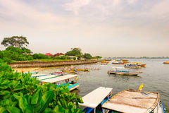 The boats in harbour Royalty Free Stock Photography