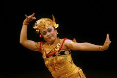 INDONESIA BALI DANCE Royalty Free Stock Photo
