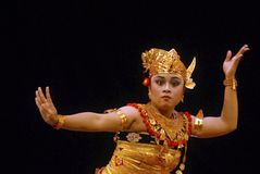 INDONESIA BALI DANCE Stock Photo