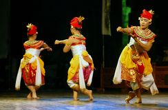 INDONESIA BALI DANCE Royalty Free Stock Image