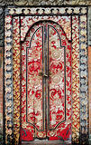 Indonesia, bali: decorated door Stock Photos