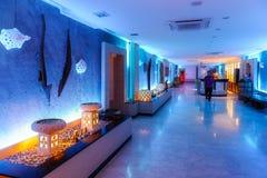 The spa hall. Indonesia Bali Kuta.The spa hall stock photography