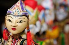 Indonesia, Bali, marioneta tradicional Imágenes de archivo libres de regalías