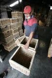 Indonesia bamboo craft Stock Photo