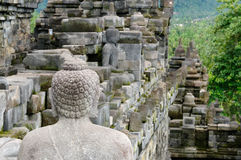 Indonesia,  Borobudur Buddhist temple Stock Photo