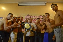 INDONESIA BOXING ACHIEVEMENT Royalty Free Stock Images