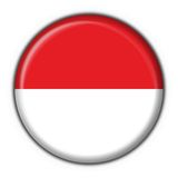 Indonesia button flag round shape Stock Photography
