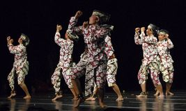 INDONESIA CREATIVE JOBS. Might of Woman dance performance at Solo, Java, Indonesia. Indonesian business communities urged the government to immediately impose Royalty Free Stock Photos