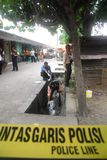 INDONESIA CRIME SCENE INVESTIGATOR Stock Images