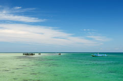 Indonesia, Derawan island, East Kalimantan Stock Photography