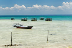 Indonesia, Derawan island, East Kalimantan Stock Image