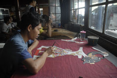 INDONESIA ECONOMY PRESSURE Stock Photos