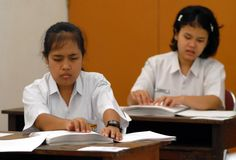 INDONESIA EDUCATION FOR HANDICAPPED Royalty Free Stock Photography