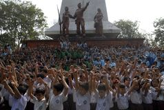 INDONESIA EDUCATION LAW PETITION Stock Photography