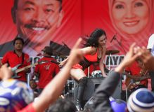 INDONESIA ELECTION Royalty Free Stock Photography