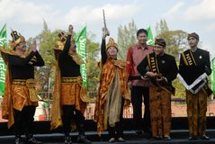 INDONESIA ETHNIC ART FESTIVAL COUNTRY Royalty Free Stock Photo