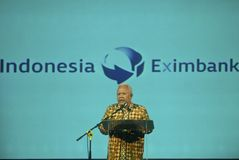 INDONESIA EXIMBANK TO RAISE BONDS Royalty Free Stock Photo