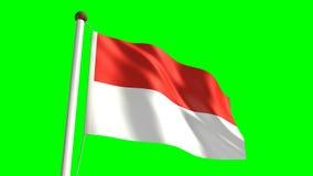Indonesia flag Royalty Free Stock Photo