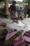 INDONESIA FLOODED SCHOOL Stock Image