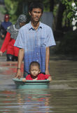 INDONESIA FLOODING PROBLEM Stock Photos