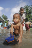 INDONESIA FLOODING PROBLEM Stock Images