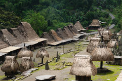 Indonesia, Flores, Bena village stock photography