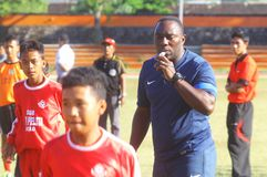 Indonesia football head coach Stock Photos
