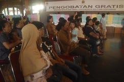 INDONESIA FREE MEDICATION Royalty Free Stock Photo