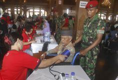 INDONESIA FREE MEDICATION Royalty Free Stock Image