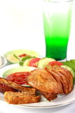 Indonesia Fried Chicken Stock Photography