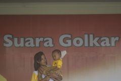INDONESIA GOLKAR POLITICAL PARTY PROFILE Royalty Free Stock Photography