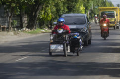 INDONESIA HANDICAPPED TRANSPORTATION Royalty Free Stock Photos