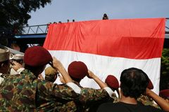 Indonesia heroes day Royalty Free Stock Image