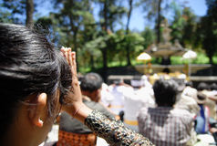 INDONESIA HINDUISM RITUAL Stock Images