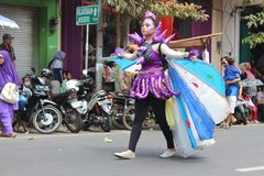 Indonesia Independence Day Carnival stock images
