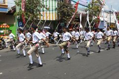 Indonesia Independence Day Carnival stock photo