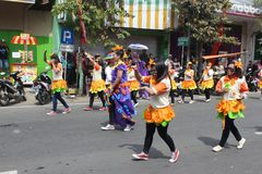Indonesia Independence Day Carnival royalty free stock photos