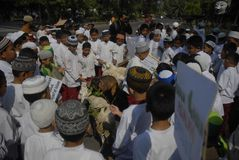 INDONESIA ISIS THREAT Stock Photo
