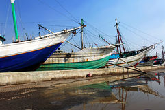 indonesia Jakarta kelapa sunda fotografia stock