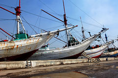 Indonesia, Jakarta: Sunda Kelapa Royalty Free Stock Photos