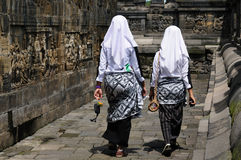 Indonesia, Java. Borobodur Stock Photo