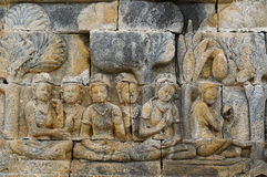 Indonesia, Java. Borobodur Royalty Free Stock Photography