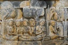 Indonesia, Java. Borobodur Royalty Free Stock Photography