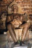 Indonesia, Java, Borobudur: Candi mendut Stock Photo