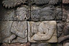 Indonesia, Java, Borobudur: Temple Stock Photo