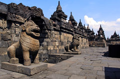 Indonesia, Java, Borobudur: Temple Royalty Free Stock Photography